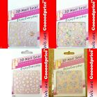 3D Nail Art Seal Beautiful Flowers Nail/Toe Sticker Pack Party Lady 01-03040815