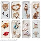 BLING DELUX DIAMANTE SPARKLE DRESS CASE COVER FOR SAMSUNG iPHONE SONY HTC s7 s8