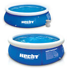Hecht Quick-Up Pool Swimmingpool Schwimmbecken Swimming Pool Schwimmbad