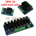 5V 2/4/8 Channel Low Level Trigger Solid State Relay Module with Fuse 380V 2A