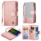 BENTOBEN Luxury Wallet Case Stand Flip Leather Cover For Samsung S8 S7 Edge Plus