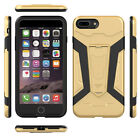 Shockproof Hybrid Armor Soft Rubber Phone Case Cover For Apple iPhone 6s 7 Plus