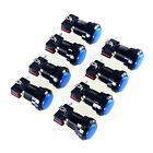 8pcs/lot Arcade LED Lighted Push Buttons To PC Controller Computer Games JAMMA