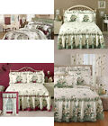 Magnolia Bedding Melissa Quilted Bedspread Splendid with Diamond-stitching Quilt image