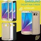 4200mAh Power Bank Store b quit Back Battery Charger Case For Samsung Galaxy Note 4 5