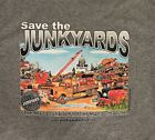JUNKYARD T-SHIRT Barn Find Antique Hot Rat Rod Street Rod Gift Tow Truck Garage