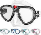 SEAC - Fox Silicone Scuba Dive Snorkel Mask - Low Volume - Mask Box included