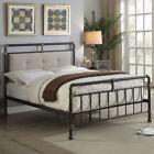 Hot Sale - Industrial Scaffold Pipe Rustic Copper Metal Bed Single Double King
