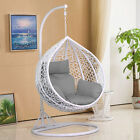 Rattan Hanging Swing Chair Patio Garden Egg Chair Hammock Outdoor Furniture