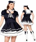 Womens Sweetie Sailor Costume Theme Party Ladies Fancy Dress Parties Outfit