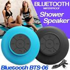 New Waterproof Shower Speaker Suction Bluetooth Handsfree Mic Car Stereo UK Sell