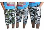 Boys Camouflage Shorts Militery Army Print Knee Length Kids age 3 to 14 Years