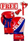 ISLERO Kick Boxing GEL Gloves MMA Punch Bag Sparring Muay Thai Fight Training UF