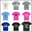 Kids T-Shirt For Father's Day Gift For Dad Daddy Funny Family Cute 2T 4T XS S