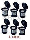 Reusable Refillable Single K-Cups Coffee Filter Pod for Keurig K55 Makers Black cheap