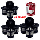 Reusable Refillable Single K-Cups Coffee Filter Pod for Keurig K55 Makers Black