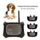 Dog Fence Wireless Pet Containment System Rechargeable & Waterproof training Kit