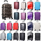 20'' Cabin Lugguge 4 Wheel Spinner Sutcase Lightweight Trolley Case Hard Shell