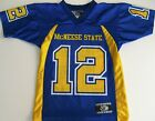 MCNEESE STATE (LA) COWBOYS NCAA FOOTBALL JERSEY YOUTH SMALL OR MEDIUM #12 NEW!