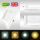 Round & Square Recessed Ceiling LED Panel Down Lights Backlit Exclusive Design