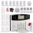 LCD Security Wireless Dual GSM Autodial Home Office Burglar Intruder Alarm SetUK