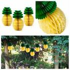 10 Pineapple Honeycomb Paper Ball Hawaiian Party Garland Table Centerpiece Decor