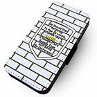Age Lvl 80 -Faux Leather Flip Phone Cover Case- Gamer Birthday Geek #2