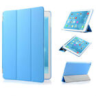 New Magnetic Smart Cover Back Case For Apple iPad 9.7 2017 With Screen Protector