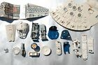 VINTAGE STAR WARS MILLENNIUM FALCON PARTS KENNER screws panel radar seat ramp $13.99 USD