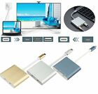 Type C to HDMI USB 3.0 Charging HUB Adapter USB-C 3.1 Converter For Macbook FV