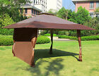 1PC Wall Side Gazebo Canopy Wind and Sun Shade Privacy Panel Curtain Replacement