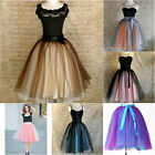 7 Layers Maxi Long Ballet Tulle Celebrity Skirts women Adult Tutu Ball Gown