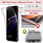 Ultra Thin Slim 360 TPU Gel Pouch Cover Case for Samsung Galaxy S8 Plus Note 8