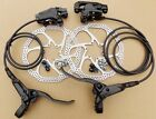 Redneck Sports MTB Hydraulic Disc Brakes Set Pre-Filled With 160mm Rotors