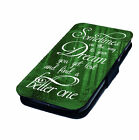 On the Way to your Dream Printed Faux Leather Flip Phone Cover Case #1