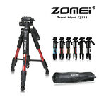 Pro Portable Aluminum Travel Camera Tripod  Pan head QR plate for DSLR Camera
