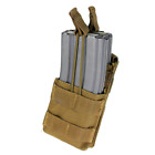 Condor MA42 Single Stacker MOLLE Mag Pouch - Holds 2  .223 & 5.56 Mags