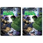 Marvel Hulk VS Thanos Printed PC Case Cover For Apple iPad - S-T1612