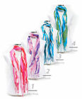 New Multi Color Wavy Lines Viscose Scarf (LS2801)