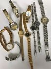 Lot Women's Watches For Parts Or Repair