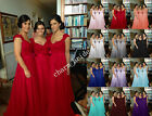 New Chiffon Formal Evening Bridesmaid Dresses Party Ball Prom Gown Dress 6-20+