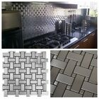 Basket Weave Pattern Stainless...