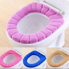 Washable Bathroom Toilet Seat Closestool Soft Warmer Mat Cover Pad Cushion