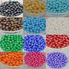 6-12mm Mixing Round loose Faceted spacer beads DIY jewelry making charm AB color