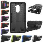 For Huawei Honor 6X Play GR5 2017 Rubber Kickstand Tough Armor Hybrid Case Cover