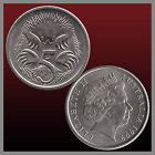 AUSTRALIA 5 CENTS ECHIDNA ANTEATER ANIMAL COIN VARIOUS DATES 1980 1993TO 1999