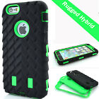 High Impact Rugged Combo Defender Armor Case for iPhone 5 5S 5C SE 4S 6 6S Plus