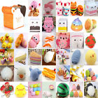 Lot Jumbo Squishy Fruit Breads Toast Slow Rising Bread Cellphone Strap Charms