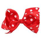 Colorful Bowknot Hairpin Kids Baby Girls Hair Bow Clip Barrette Hait Clips 1 Pcs