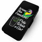 Polly Wants A Gin Printed Faux Leather Flip Phone Cover Case 2 Cracker Sloe